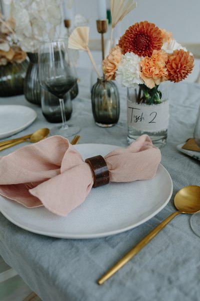 Baumwollband Tischnummer