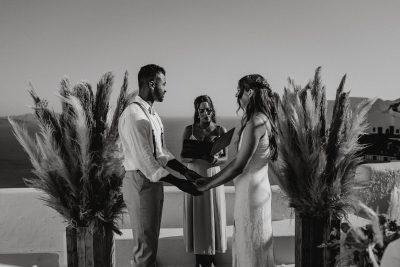 Hochzeit auf Santorini