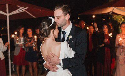 Romantische Hochzeit in Spanien