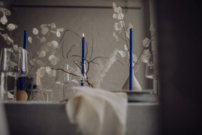 Something Blue Hochzeitskonzept