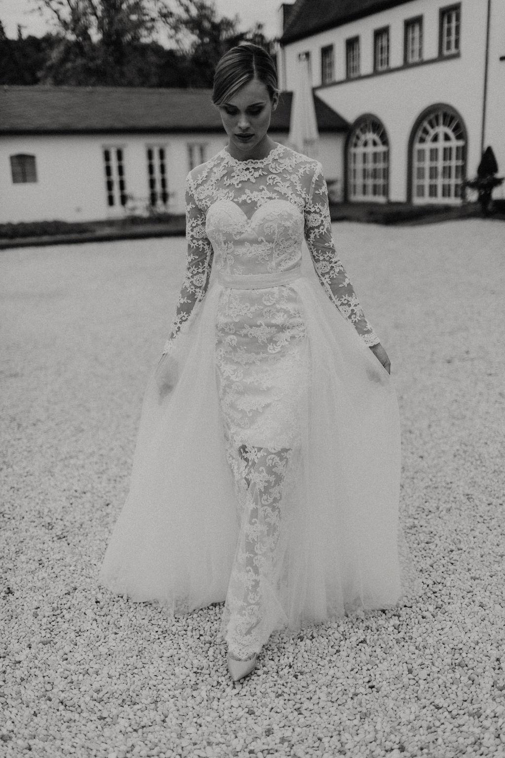Brautkleider für den Winter