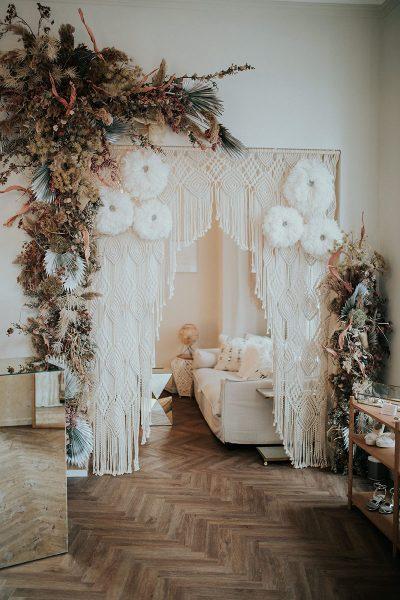 Brautblüte Boho Glam