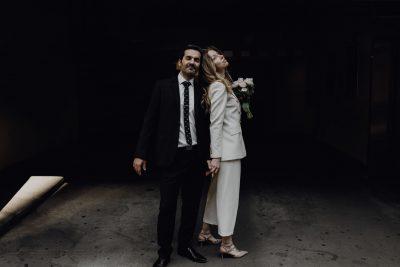 Standesamtliche Hochzeit während Corona