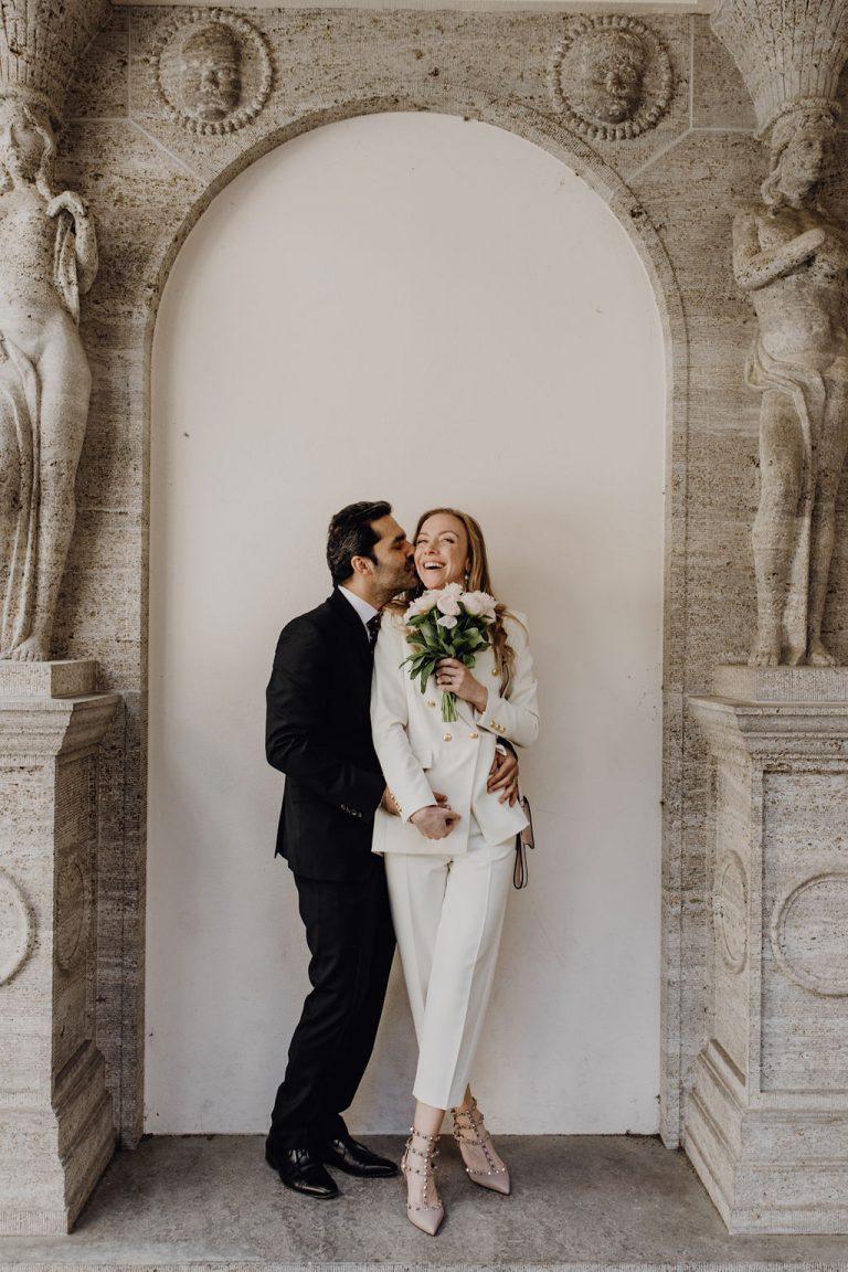 Standesamtliche Hochzeit während Corona - FRIEDA THERÉS