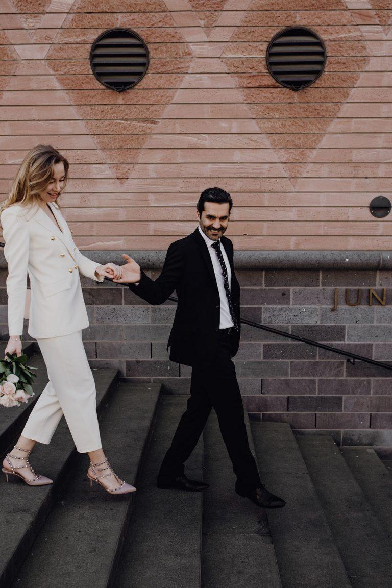 Standesamtliche Hochzeit während Corona   FRIEDA THERÉS