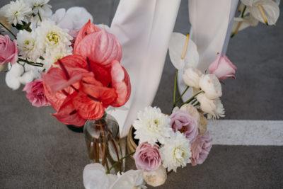 Strike a pose: neue Brautmode mit Power