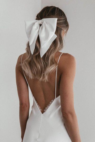 Brautfrisuren Trend: der coole Dutt