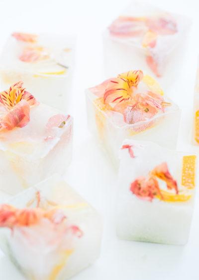 Coole Eyecatcher: Eiswürfel für die Hochzeit
