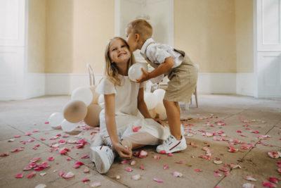 Cool Kids: Kindertisch für die Hochzeit