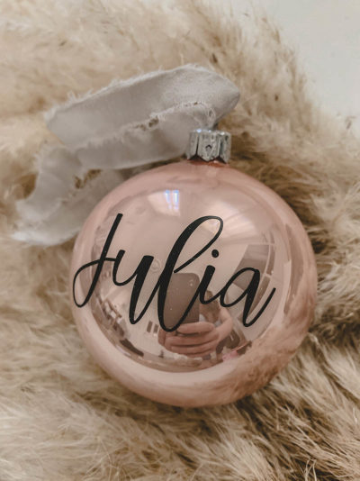Weihnachtskugel Namen