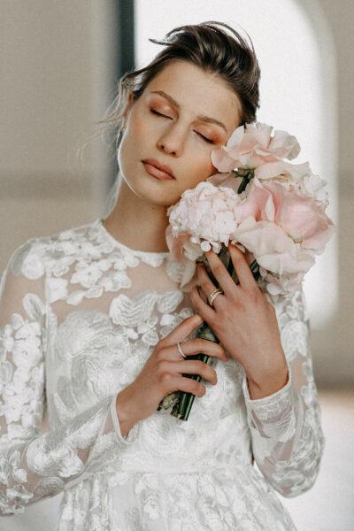 Brautmoden-Trend 2021: Flowerpower