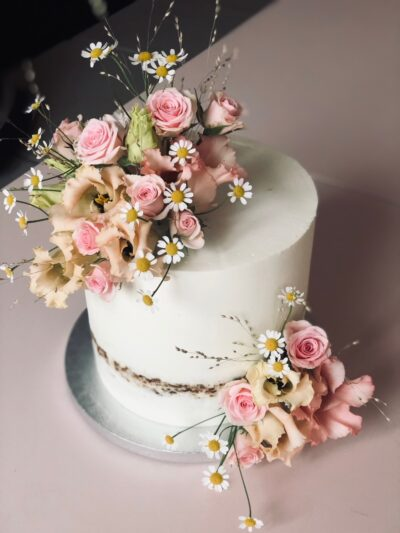 Kleine Hochzeitstorten