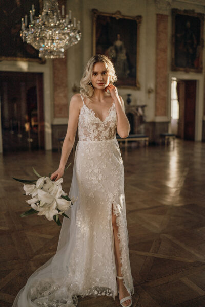 Bridal Editorial: Palace Glam