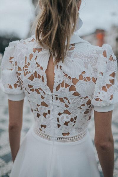Kurze Brautkleider von Rembo Styling