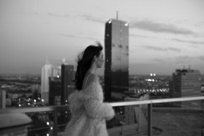 Bridal Editorial: Vienna Rooftop