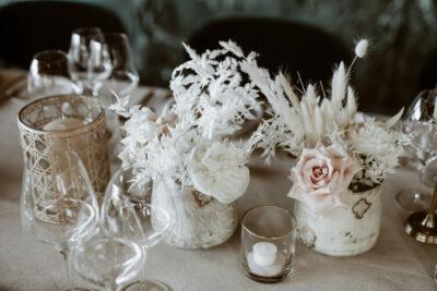 White Fashion Wedding