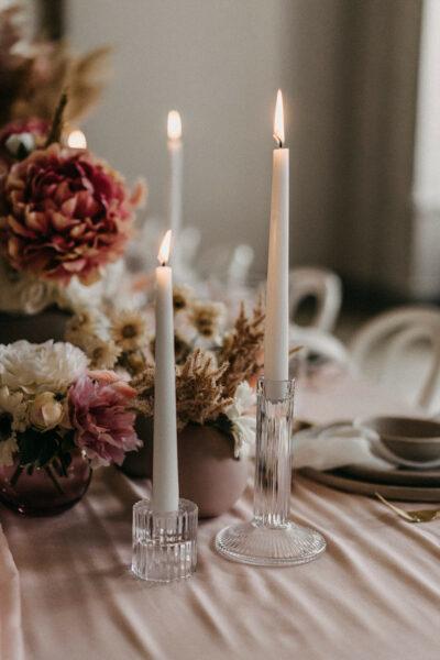 Hochzeitsdeko mit Pampasgras