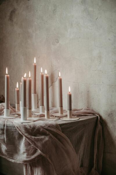 Tischdeko: Pfingstrosen Liebe