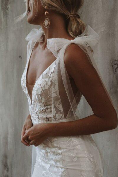 Neue Brautmode für den Herbst