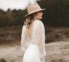 Brautmode Boho Hochzeitskleider Vintage Light and Lace